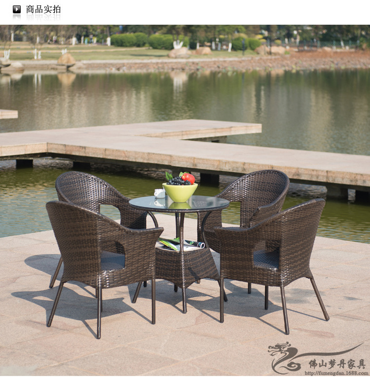 Aliexpress.com : Buy Rattan Chair And Coffee Table Casual Outdoor Furniture  Balcony Garden Rattan Table And Chairs LT01 From Reliable Rattan Table  Suppliers ...