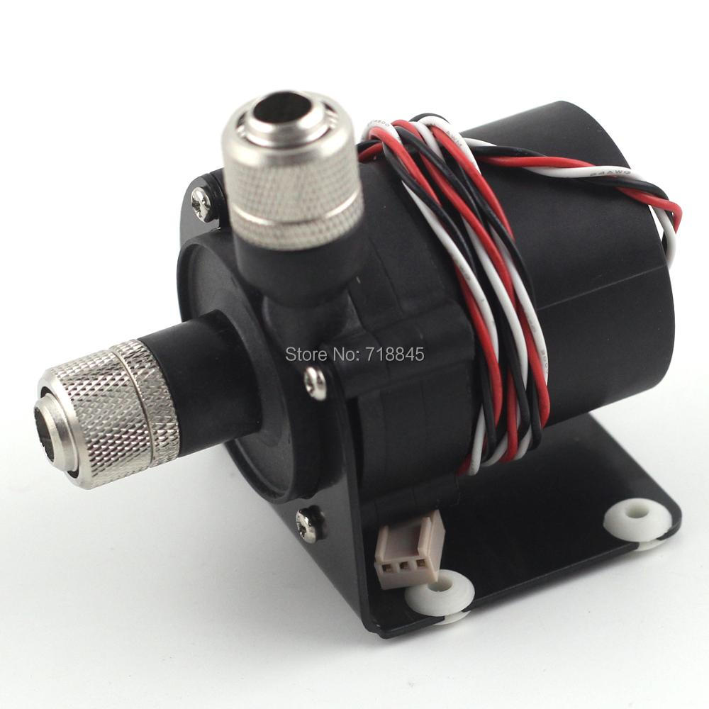 SC600B Pompă fără perii cu 3 pini DC12V cu cursa măsurată pentru sistem de răcire cu lichid PC cu fiting
