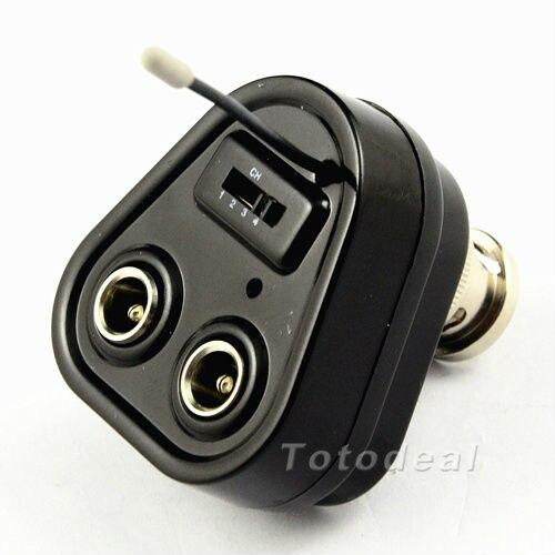 mini 2,4 g 4 kanal verdrahtet drahtlose kamera konverter bnc ...