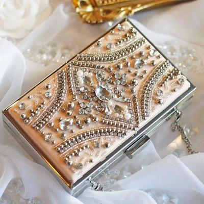 Fashion Box evening bag diamond flower Clutch Bag hollow relief Acrylic luxury handbag banquet party purse women's Shoulder bag цена