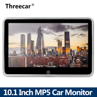 10 HD Car Headrest Monitor DVD Video Player USB/SD/FM TFT LCD Digital Screen Touch Button Game Remote Control Car MP5 Player