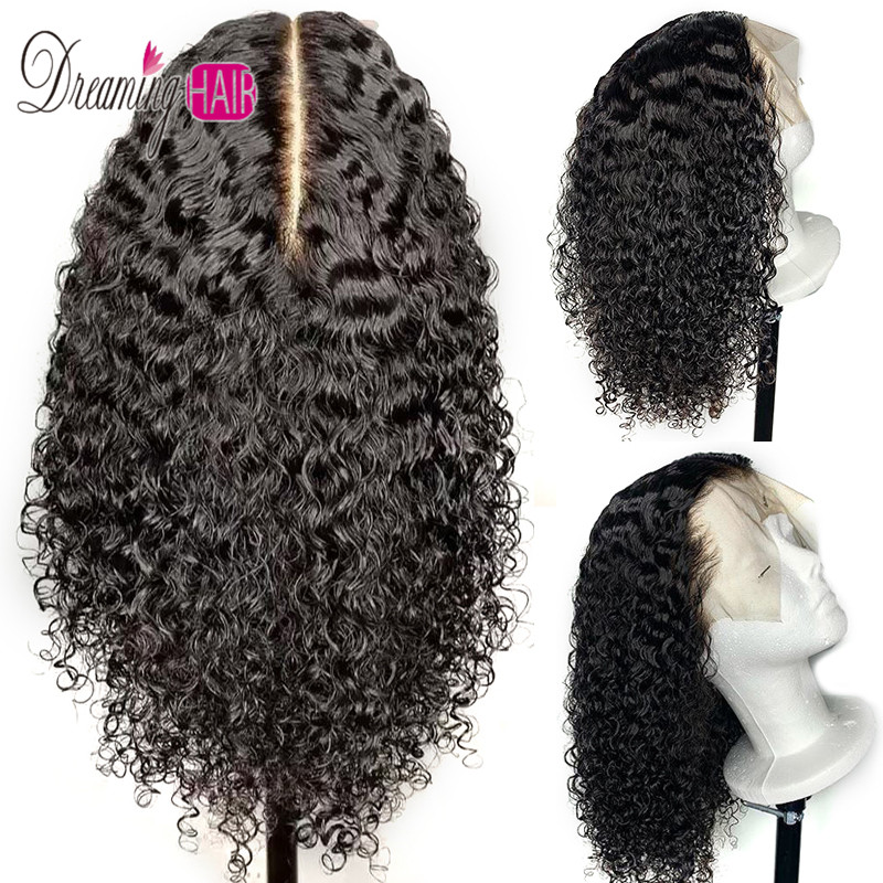 150% Density 13x6 Short Bob Lace Front Human Hair Wigs Brazilian Curly Human Hair Wig For Black Women Full End Lace Wig