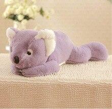middle plush purple koala toy cartoon lying koala doll gift doll about 60cm