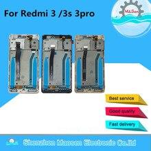 """5.0 """"המקורי M & סן עבור Xiaomi Redmi 3 Redmi 3S Redmi 3 פרו LCD מסך תצוגה + לוח מגע Digitizer מסגרת עבור Redmi 3X Lcd"""