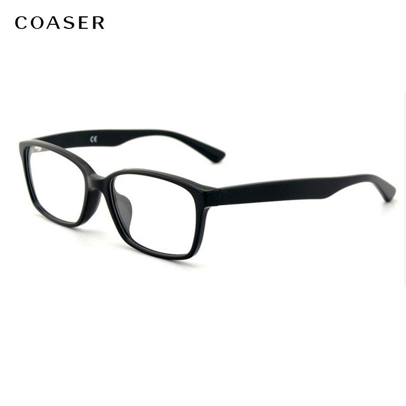 Retro Brillen Quadrat Vintage Brillengestell optische Brillen Rahmen ...