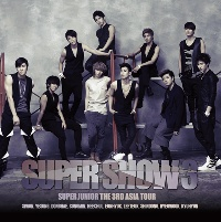SUPER JUNIOR THE 3RD ASIA TOUR - SUPER SHOW 3 ( + Special Photobook) Release Date 2011- 12 - 21 KOREA KPOP ALBUM 2013 g dragon world tour one of a kind the final in seoul world tour [ booklet 3 photocards] release date 2014 2 12 kpop