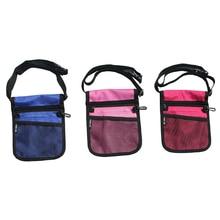 12PCS / LOT Portable Waist Bag for Nurse Tool Crossbody Shoulder Belt Pack Women Men Travel Money Pouch