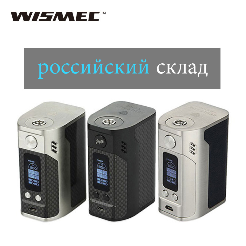 Originale 300 W WISMEC Reuleaux RX300 TC Mod Per Reux Atomizzatore Wismec rx300 Box Mod VW/TC Modalità E-Cigarette Box Mod vs RX2/3 Mod