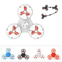 Fly Fidget Spinner Toy Pressure Reliever Toys Flying Spinner For Autism Anxiety Stress Release Toy Automatic Rotatable Toys