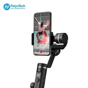 Image 3 - FeiyuTech Feiyu SPG2 3 Axis El Gimbal Sabitleyici Sıçrama geçirmez Tasarım Smartphone iphone Xs X 8 7 galaxy S9 + Gopro 7 6