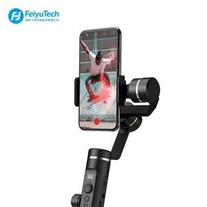 Image 3 - FeiyuTech Feiyu SPG2 estabilizador de cardán de mano de 3 ejes a prueba de salpicaduras diseño para Smartphone iphone Xs X 8 7 Galaxy S9 + Gopro 7 6