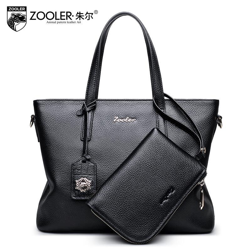 free delivery  Genuine Leather  Women bag  2017 new temperament handbag Shoulder Messenger Bag Fashion Tote Bag