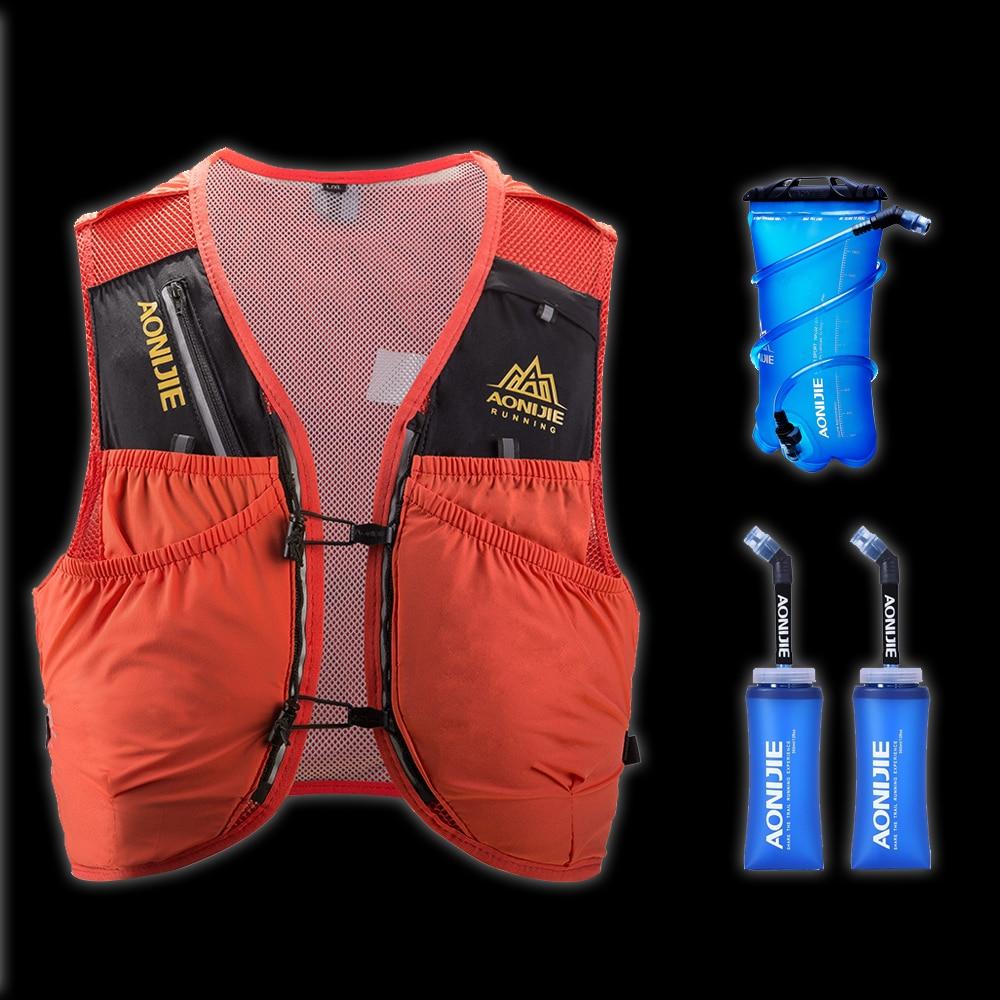 AONIJIE 10L sac à dos de peau avancé sac à dos d'hydratation sac à dos gilet harnais vessie d'eau randonnée Camping course Marathon