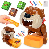 Flake Out Bad Dog Bones Cards Tricky Toy Games Parent child Kid Play Joke Fun Christmas Gift Children Kids Prank Funny Toys
