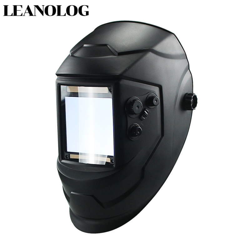 New Auto Darkening Welding Helmet Welder Machine Mask Lens Black Sensor MIG TIG