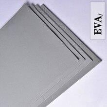 38 درجة 50x200 سنتيمتر رمادي اللون إيفا رغوة ورقة كرافت إيفا ورقة سهلة القطع لكمة ورقة اليدوية تأثيري المواد