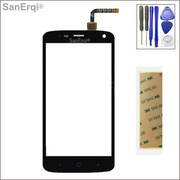 Sanerqi Touch Screen Digitizer Glass Panel For Zte Blade