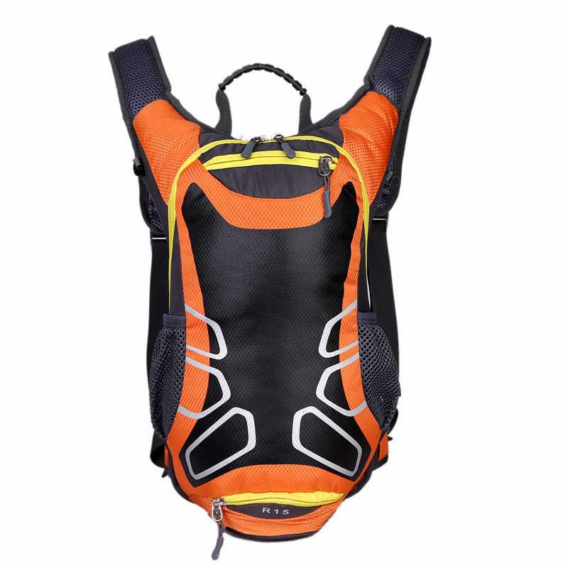 Новая уличная езда Альпинизм Туризм Бег Путешествия Спортивная гидрация рюкзак сумка для воды Велоспорт велосипед двойной наплечный мешок