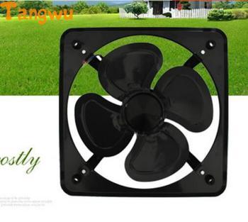 Fan Parts Strong Wind Power Industry Iron Fan 8 Inch Kitchen Window Exhaust Exhaust Fan  NEW