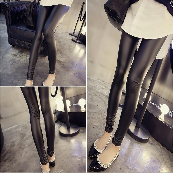 High-Quality Women Faux Leather Leggings