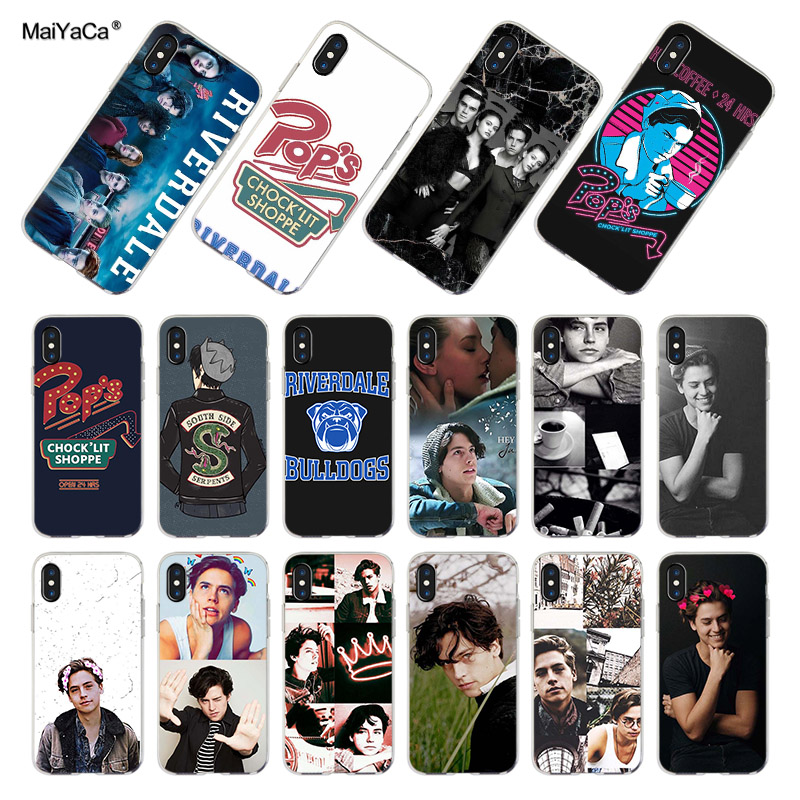 Riverdale Series Cole Sprouse The Fashion Phone Case For Apple Iphone 8 7 6 6S Plus X XS MAX XR 5 5S SE 5C Case Cover