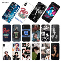MaiYaCa Riverdale Series Cole Sprouse The Fashion phone Case for  iPhone 8 7 6 6S Plus X XS MAX XR 5S SE 11 11pro max case Cover series cole sprouse newly arrived black phone case for iphone 8 7 6 6s plus x xs max 5 5s se xr 11 11pro promax cover