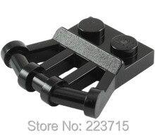 Plate 1x2 w 2 handles 20pcsDIY enlighten block brick part No 92692 Compatible With Other