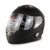 New Bluetooth Helmet Motorcycle Flip Up Helmet With Built In Intercom System DOT Certificate Double Visors