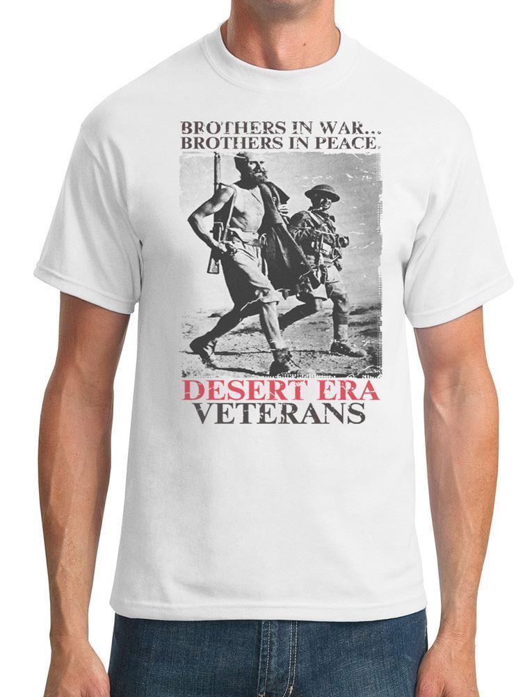 Desert Era Veterans - Brothers In War - Mens T-Shirt