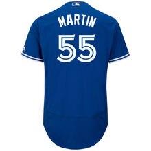 f6d44741e MLB Men s Toronto Blue Jays Russell Martin Baseball Alternate Bright Royal  Flex Base