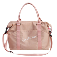 Fashion Men Travel Sac a Main Large Capacity Ladies Hand Luggage Hot Black Pink Weekend Bags Travel Duffle Bags for Women 2019