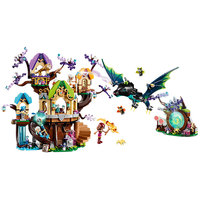 Friend Series The Elvenstar Tree Bat Attack Building Block Bricks Toys Children's gift Compatible With Legoings Girl Friends