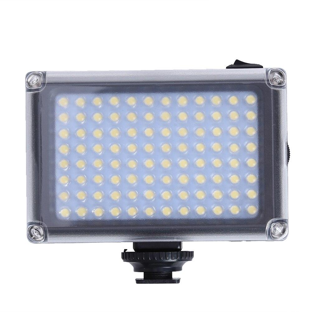 Professional 5500K 96 LED Fill Light Photography Luminaire Camera Flash Light Supplement LED Flash Photo Studio Accessory