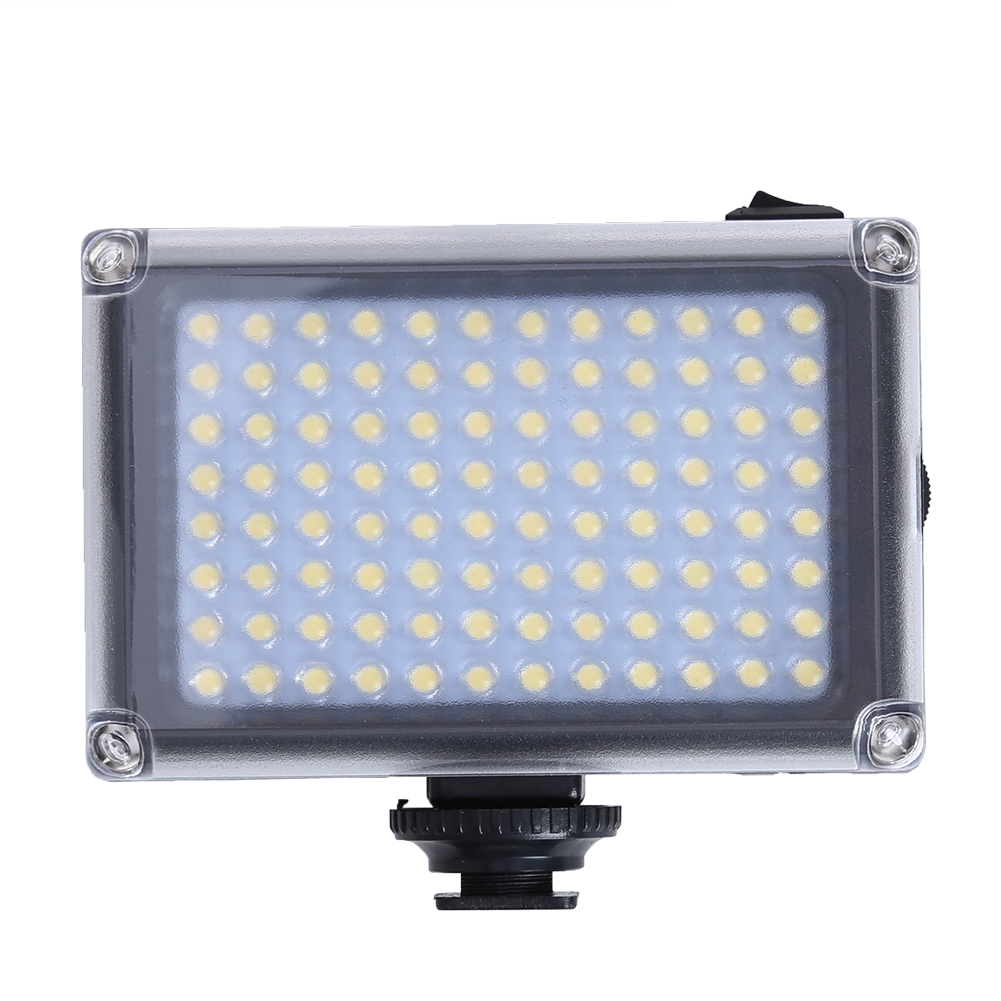 Professional 5500K 96 LED Fill Light Photography Luminaire Camera Flash Light Supplement ...