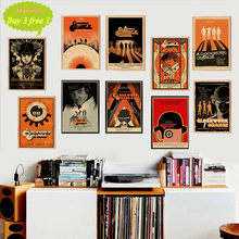 Clockwork Orange Film Poster Dinding Bar Cafe Seni Dekorasi Poster Stiker Dinding Dekorasi Rumah(China)