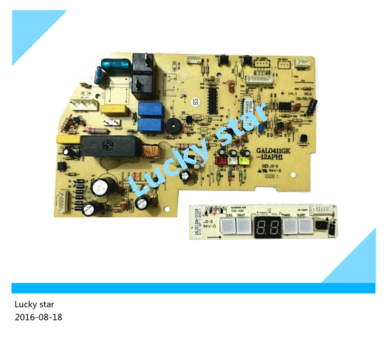 95% new used for Air conditioning computer board GAL0411GK-12APH1 RJ0302 PC board good working 2pcs/set air conditioning parts computer board 30294206 dashboard z421503 used disassemble