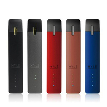 CYAN Vape Pen 250mah Built-in Battery Device with 4pcs Close System 0.9ml Disposable Pods e Cigarette Kit All-in-one Vape Pen