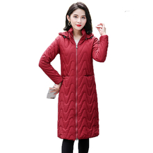 Brieuces 2020 New Winter Jacket Women Hooded Parka Coats Female Long Sleeve Thick Warm Snow Wear Jacket Coat Mujer Quilted Tops