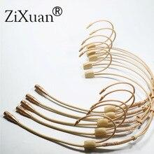 5 PCS Pro אוזן תליית אוזניות Headworn מיקרופון הקבל Hypercardioid מיקרופון עבור Sennheiser Shure אלחוטי מיקרופון מערכת