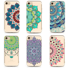 TPU Soft Case For iPhone 5s 5 6s plus 7 plus Transparent Coloured Drawing Phone Cases Cover For iPhone 7 plus Phone Cases PC-058