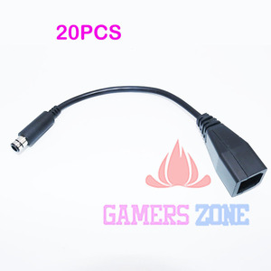 Image 1 - 20PCS Vervang Voeding Adapter Converter Transfer Cable Koord voor Xbox 360E 360 E