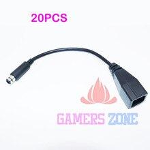20PCS להחליף כוח אספקת מתאם ממיר העברת כבל כבל עבור Xbox 360E 360 E