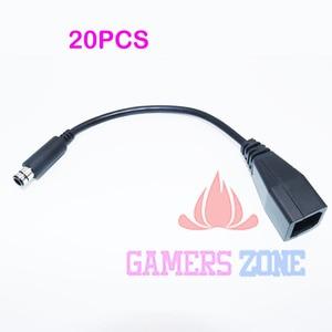 Image 1 - 20PCS เปลี่ยนแหล่งจ่ายไฟอะแดปเตอร์แปลงสายเคเบิลสำหรับ Xbox 360E 360 E