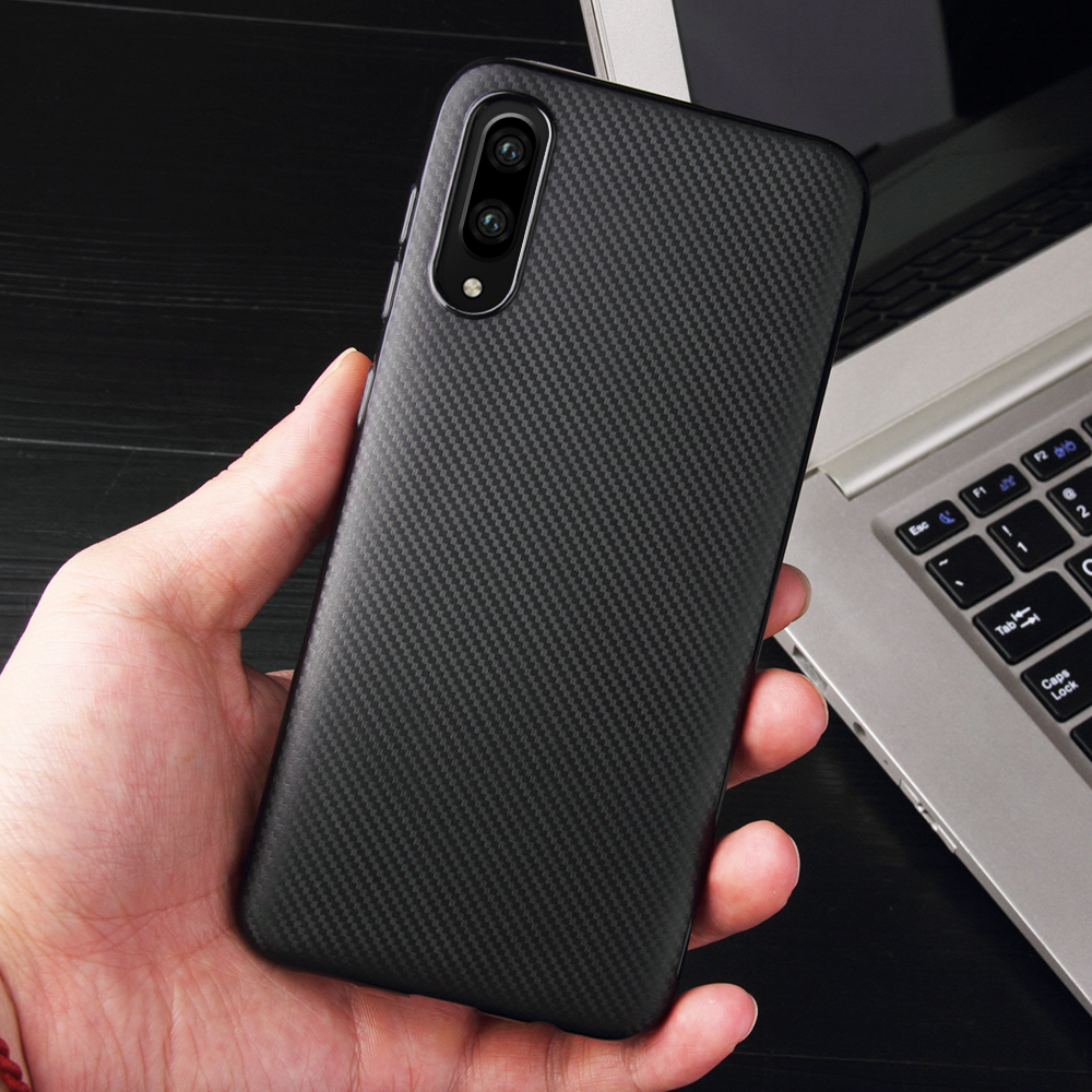 For Samsung Galaxy A50 A30 A10 A6 A8 A7 A9 Plus 2018 A6S A3 A5 2017 2016 Carbon Fiber TPU Case For Samsung A 50 30 10 Back Cover samsung