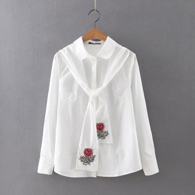 Aliexpress.com : Buy Susi&Rita 2016 Autumn Embroidery Women Cotton ...