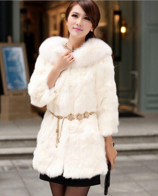 Online Get Cheap Long White Fur Coat -Aliexpress.com | Alibaba Group