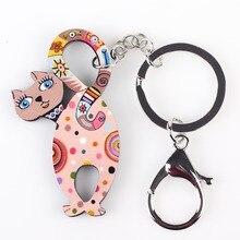 Cute Acrylic Keychain for Girls