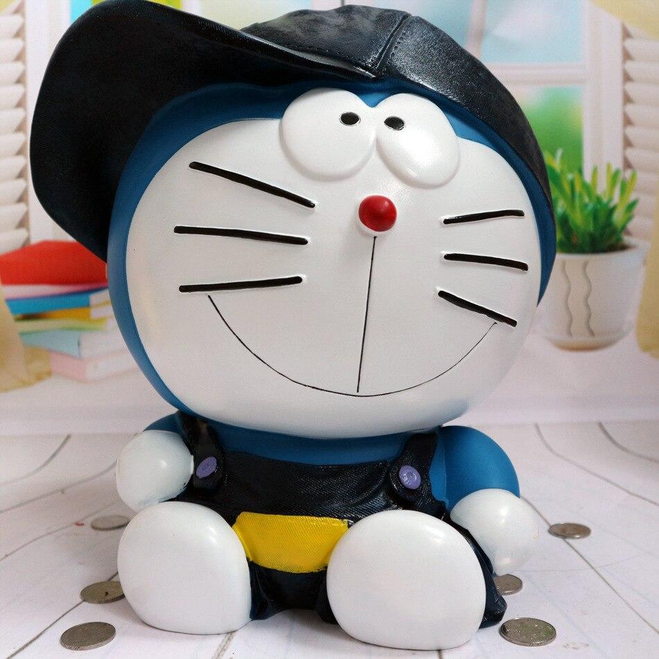 Cadeau enfant créativité grand Jingle chat tirelire Doraemon décoration ornements tirelire chute peut être sauvé