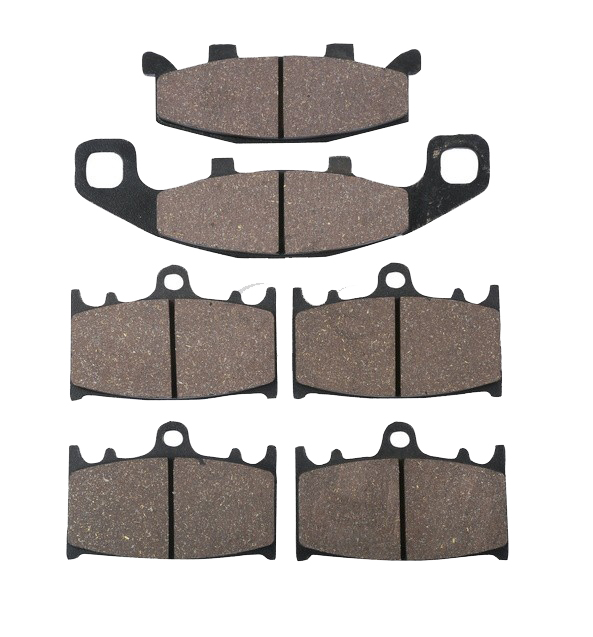 Motorcycle Rear & Front Brake Pads For KAWASAKI ZX 6R 600 1990-1993 1991 Disc motorcycle front rear brake pads for kawasaki gpx 600 r zx600 1988 1996 gpx 750 r zx750 1987 1989 zr750 1991 1995 zx100 zx10 p04