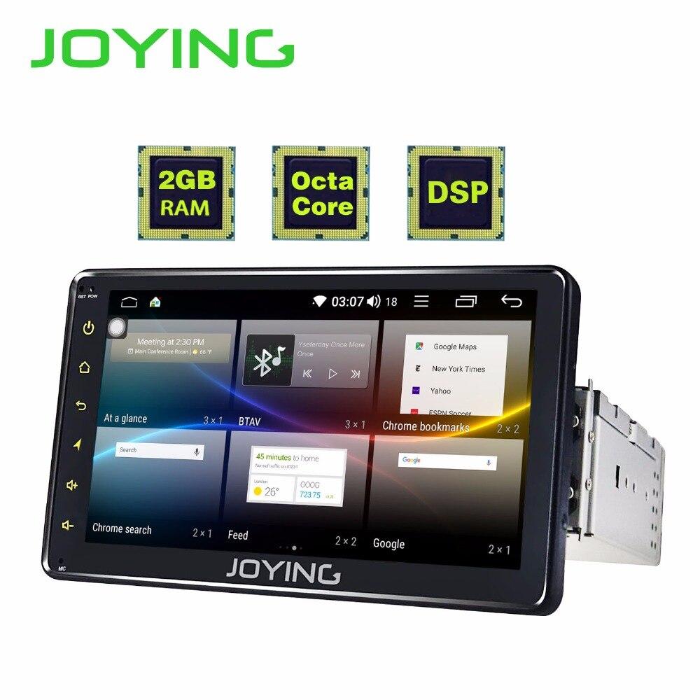 JOYING Android 8.1 Car Radio Single 1 DIN 7 Universal Stereo Octa Core Car Head Unit DSP support Split Screen/SWC/BT autoradio